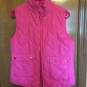 Hot Pink Puffer Vest